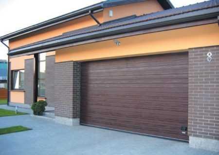 Сфера применения секционных гаражных ворот