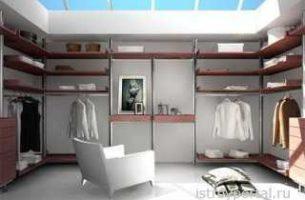 Как оформить гардеробную комнату