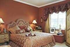 Спальная комната в современном классическом стиле