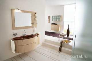 Какую тумбу под раковину выбрать для ванной комнаты