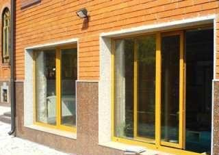 Цветные окна - оригинальное решение металлопластиковых систем