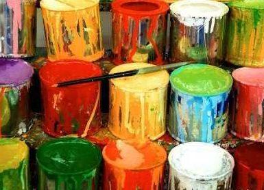 Роль красок в дизайне интерьера