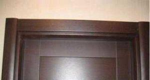 Обрамляем дверь – установка наличников