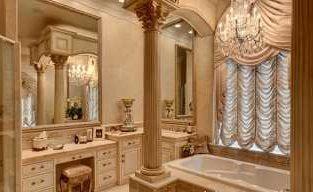 Оформляем ванную в стиле барокко