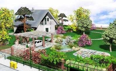 Как украсить свой двор