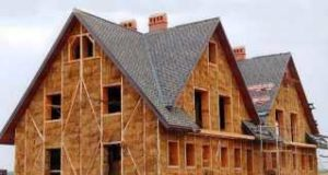 Особенная крыша для экодома