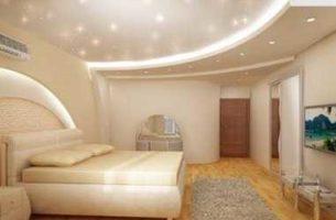 Дизайн потолка для спальни