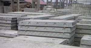 Монтаж плит перекрытий на фундамент