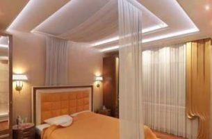 Гипсокартонные потолки – виды и их применение