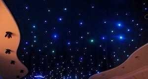 Какие натяжные потолки можно использовать для Звездного неба