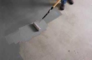 Как сделать бетонный пол без пыли