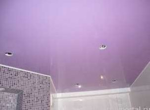 Из чего лучше сделать потолок в ванной комнате