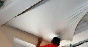 Правильный монтаж натяжных потолков