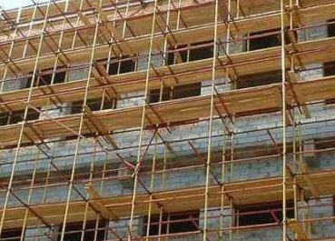 Делаем строительные леса самостоятельно
