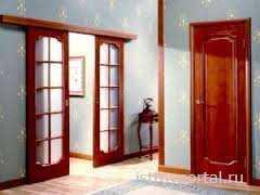 Преимущества шпонированных межкомнатных дверей