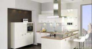 Барная стойка в кухонном интерьере