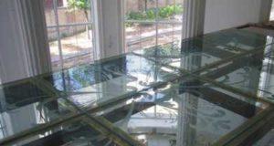 Стеклянные полы и витрины в устройстве интерьера