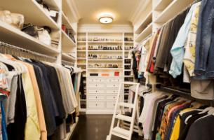 Как правильно рассчитать и оформить гардеробную комнату