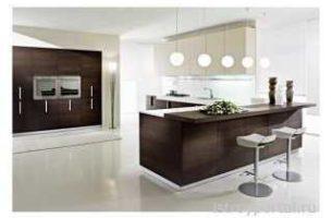 Минимализм в каждой из комнат: кухня