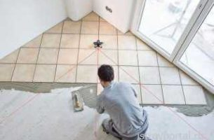 Особенности монтажа и укладки керамической плитки