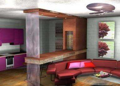 Квартира и ресторан в стиле «Осень»