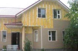 Каким материалом утеплить дом под сайдинг