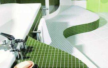 Что лучше всего использовать для оформления пола в ванной