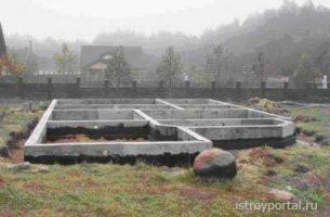 Нюансы проектирования и постройки фундамента для частного дома
