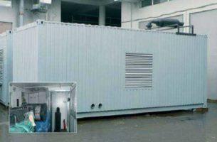 Контейнер Север — электрификация в любых климатических условиях