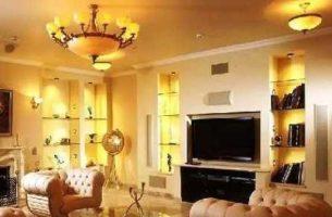 Правильное освещение в интерьере помещения