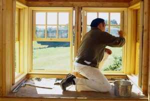 Как ухаживать за окнами из дерева