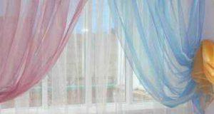 Как стирать шторы: рулонные, нити, римские, из органзы, льняные и др (как часто, на каком режиме)