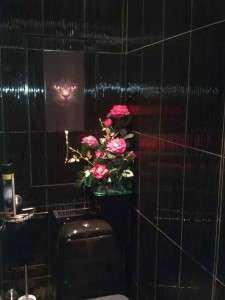 Фото и дизайн черного туалета