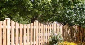 Садовые заборы своими руками