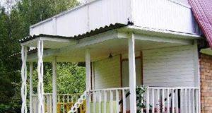 Как построить террасу к дому своими руками