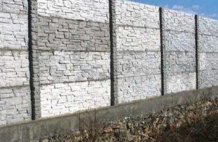 Забор из бетона своими руками