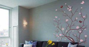 Декорирование стен своими руками: фотографии и другие идеи