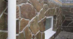 Облицовка цоколя камнем или отделка цоколя камнем своими руками