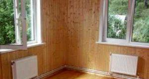 Особенности отопления деревянных домов