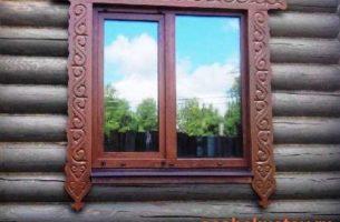Какие окна ставить в деревянный дом