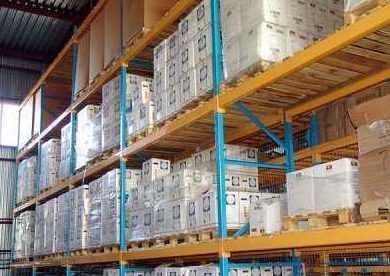 Стеллажи складские паллетные: производство и установка