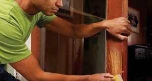 Как отремонтировать старые двери и восстановить их