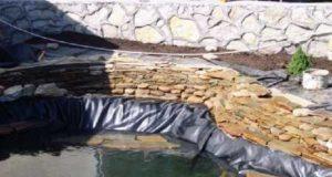 Гидроизоляция искусственного пруда