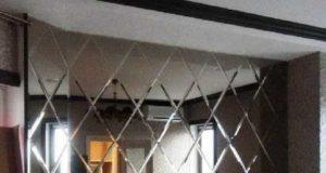 Применение зеркальной плитки с фацетом в интерьере