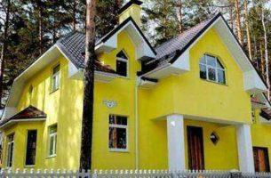 Краски для отделки фасада частного дома