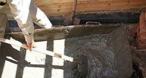 Как замесить бетон своими руками с помощью лопаты