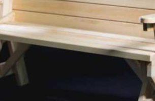 Как сделать лавку-стол (трансформер) своими руками: пошаговая инструкция