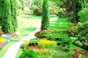 Популярные садовые стили сада