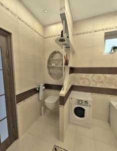 Как выбрать материал и установить перегородку в туалете