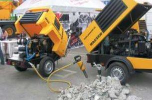 Выбор компрессора для строительных работ